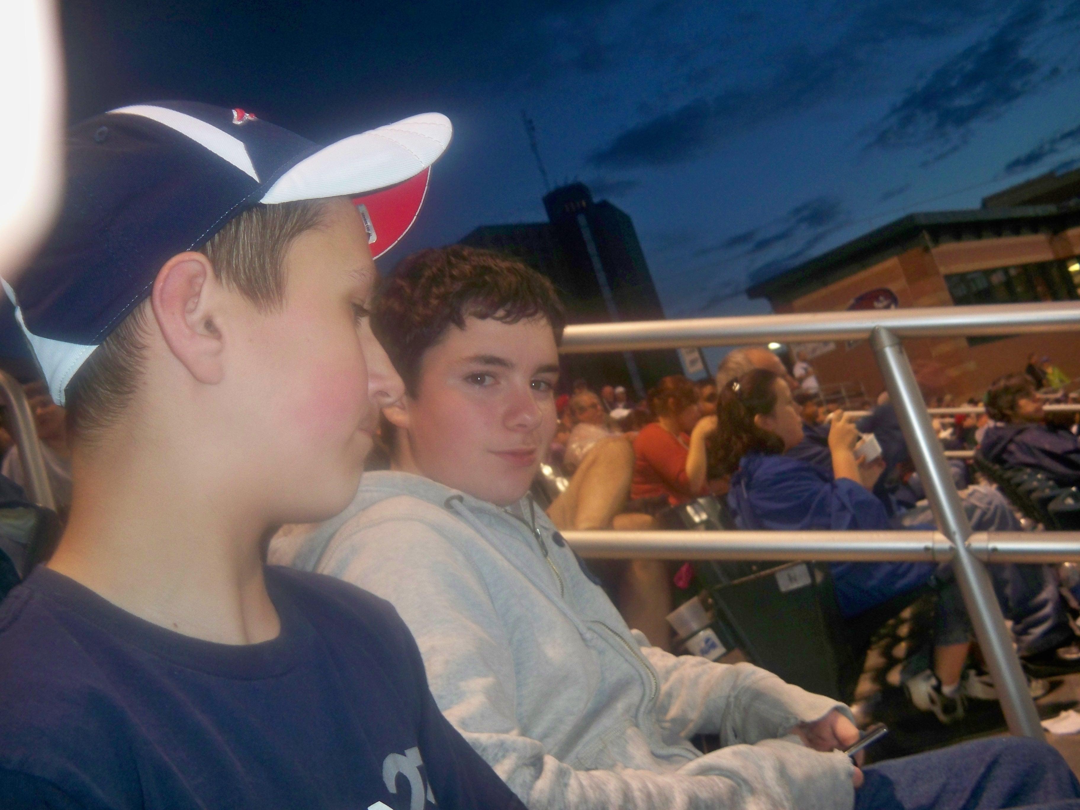Ryan and Cody